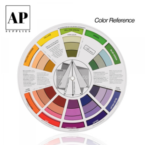 colour wheel color wheel cosmetic tatooing pmu