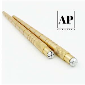 Lightweight Gold Microblading Manual Hand Tool