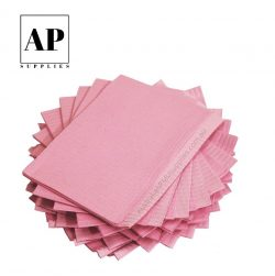 pink dental bibs
