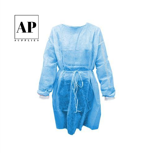 Disposable Full Sleeve Cosmetic Tattoo Gown – Light Blue (single)