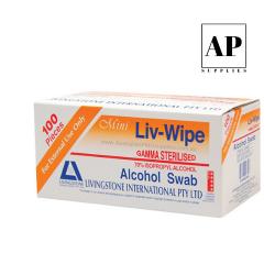 livingstone alcohol swabs orange