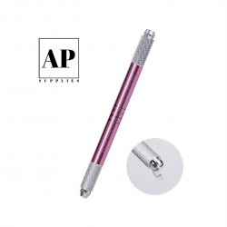 double ended microblading hand tool pink 1