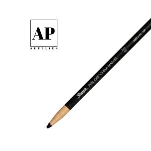 Premium Peel-off Waterproof Designer's Pencil – Black